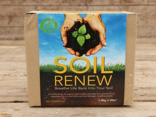 Soil Renew - Organic Soil Improver  #compost #soil #gardening