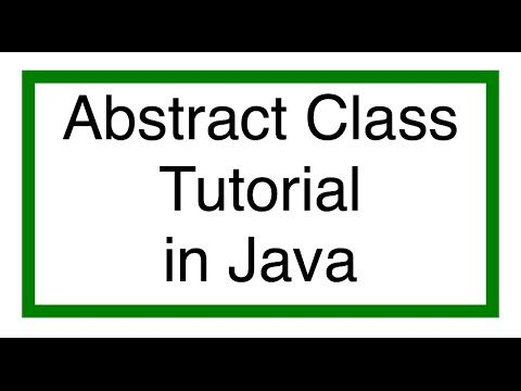 ‪#‎JavaAbstract‬ Class Tutorial. Abstract Class Constructor. Example of Abstract Class.Tutorial for beginners with examples, ‪#‎JavaInterviewQuestions‬ and Concepts.