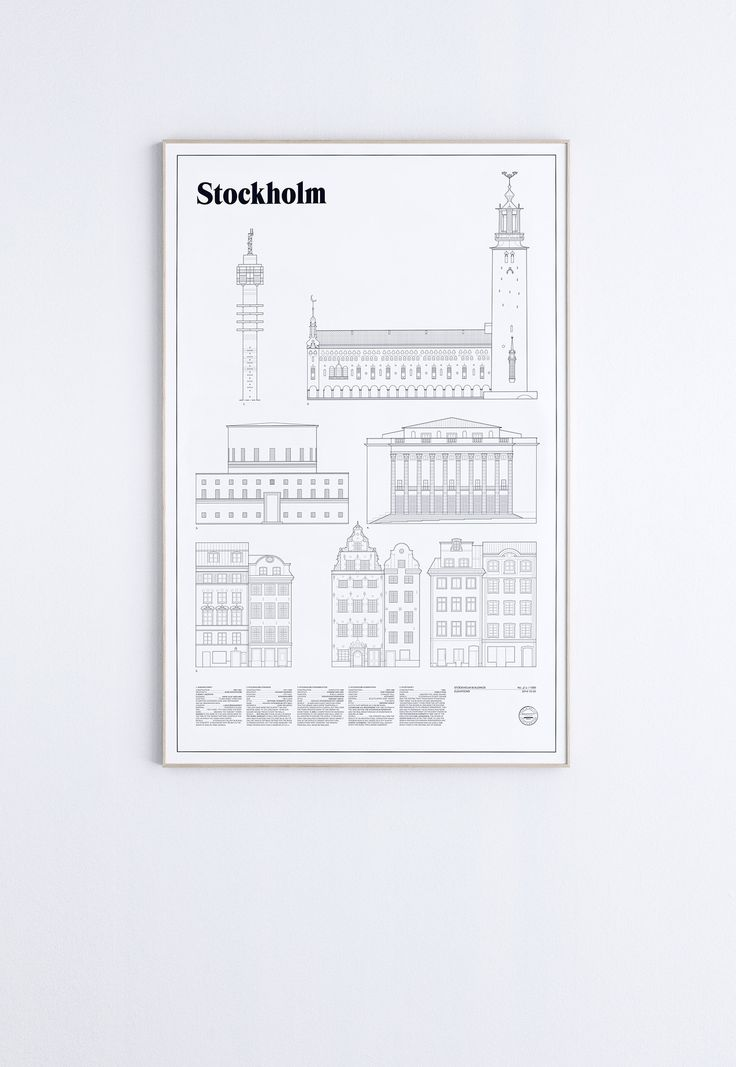 Stockholm Elevations | studio esinam