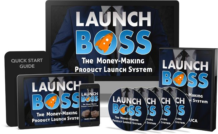 Launch Boss is a new course by Marc Deluca that will teach you how to create and launch affiliate products. Marc will theach you everything they you need to know about affiliate product launching, and he is including insider tips, pre-made sales pages, ads, and even products!