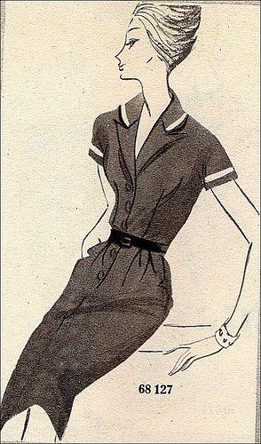 #Vintage #Vintage #Vintage ... See more: http://shop.1960sfashion... ...The 1960s-dress pattern