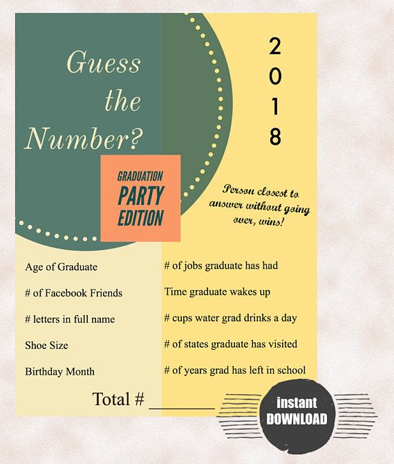 Pin by inihor on Graduation | Graduation party games