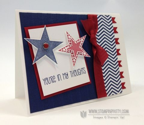 Pin By Granna On Stampin Pretty Card Ideas Independence Day Card Stampin Pretty Pretty Cards