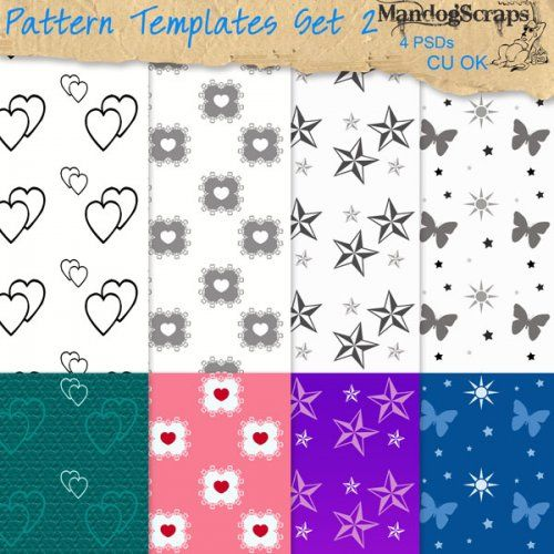 Pattern Templates Set2