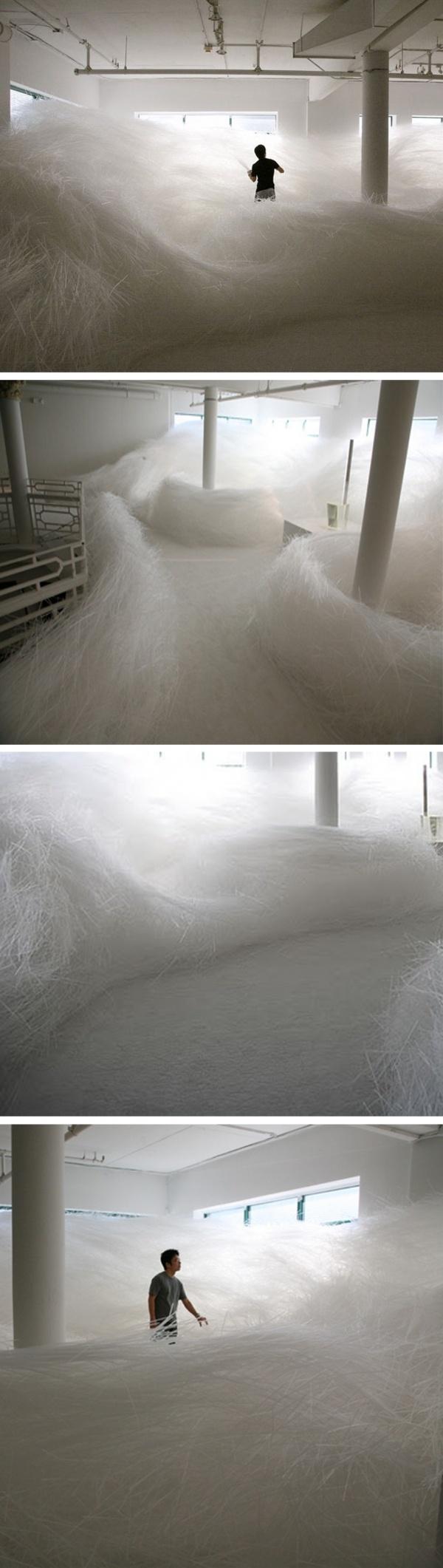 Tokujin Yoshioka art installation