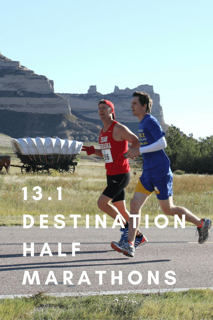 From Nebraska to San Francisco, half marathons you'll love and will want to run at least once in your life.