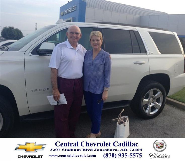 https://flic.kr/p/yqscW4 | Congratulations Stanley on your #Chevrolet #Tahoe from Paul  Mcknight at Central Chevrolet Cadillac! | deliverymaxx.com/DealerReviews.aspx?DealerCode=A020