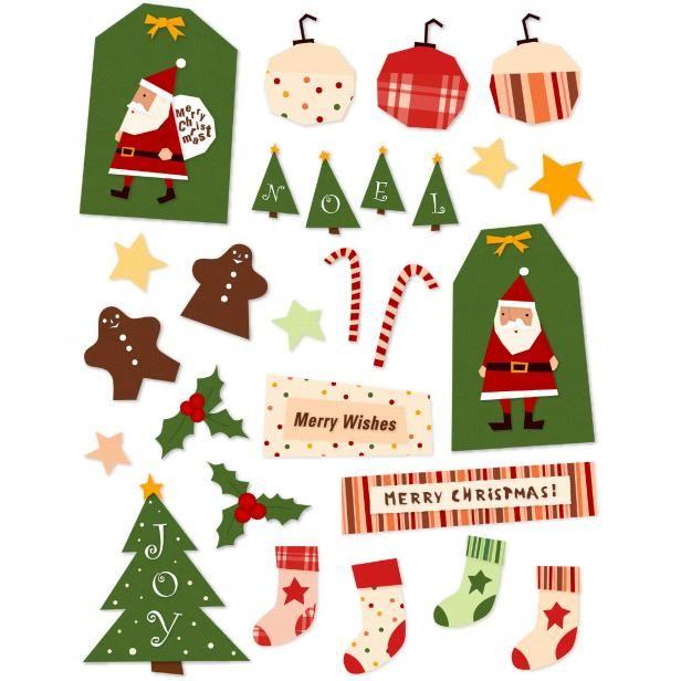 簡単・無料ダウンロードのクリスマスタグオーナメント!✧*。ヾ(。>﹏<。)ノ゙✧*。 飾りつけのポイントに、紙なので軽くてカワイイんです〜♪