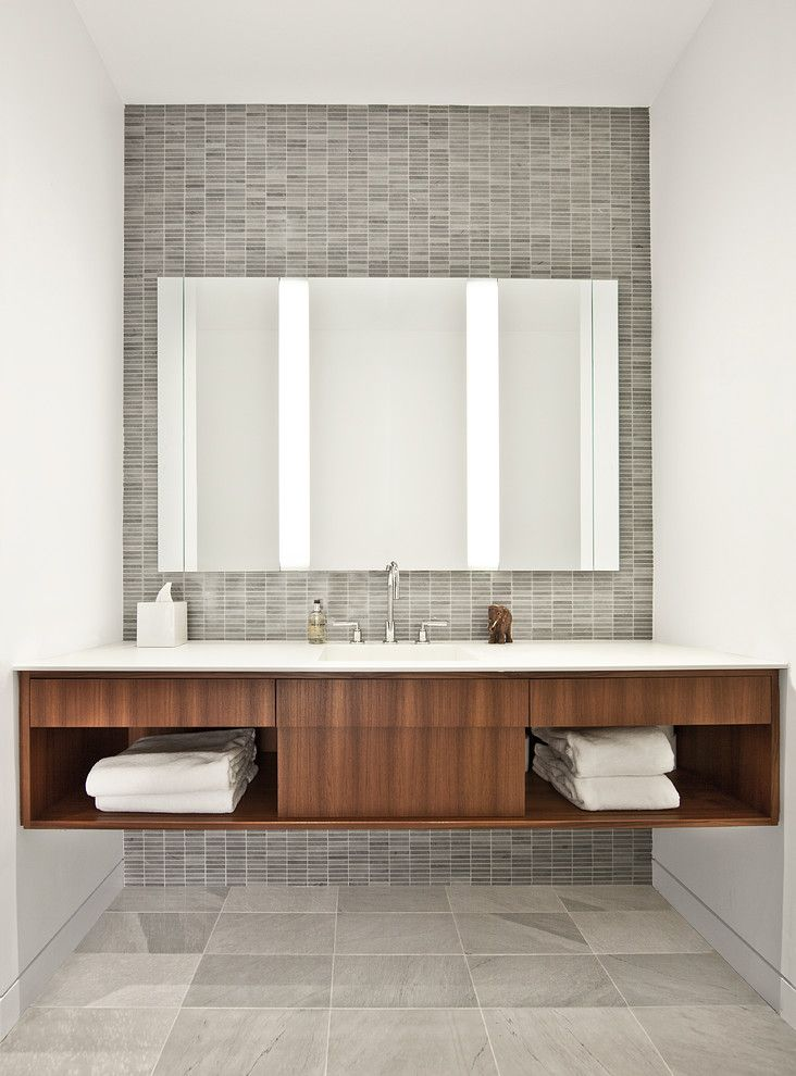 Mid-North Residence - contemporary - bathroom - chicago - Vinci | Hamp Architects