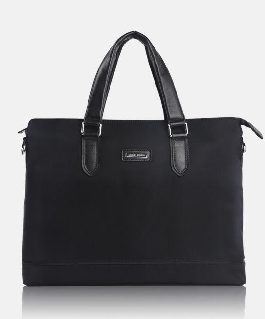 GA Verona 9912-1 Black, a masculine postman bag design by Giorgio Agnelli