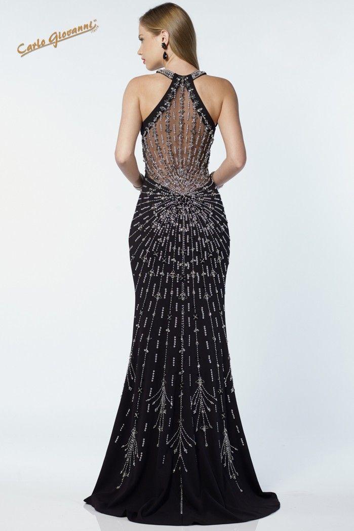vestido largo LYVL66988 - Carlo Giovanni