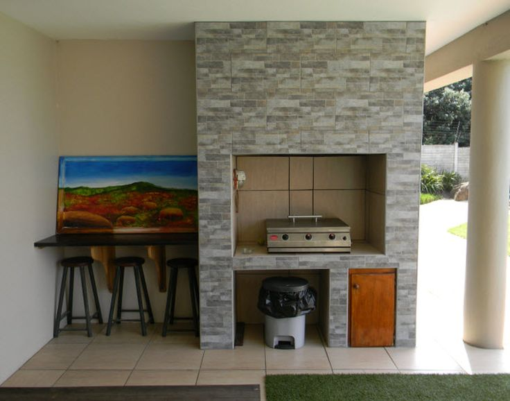 indoor braai area designs - Google Search