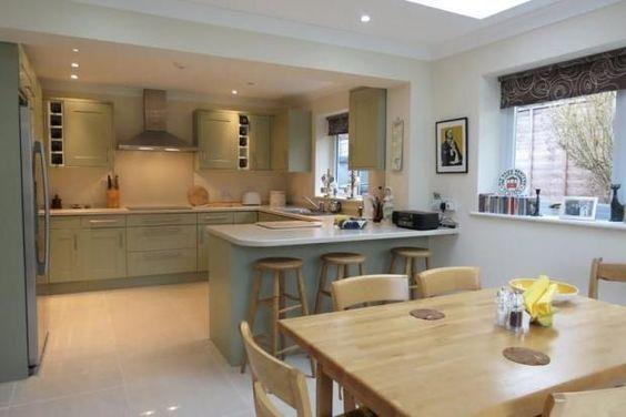 Small Kitchen Design Layout Ideas #5 - Small Diner Kitchen Ideas