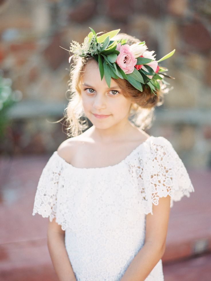 Flower girl attire: 10 Year Anniversary Vow Renewal Fiesta