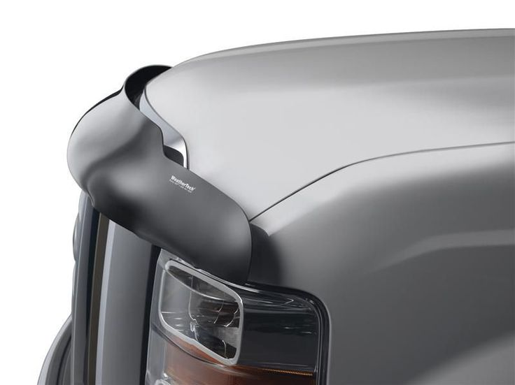 WeatherTech 2011-2016 Toyota Sienna Stone and Bug Deflector - Dark Smoke