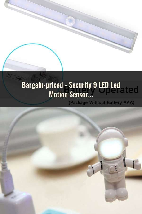 Led Lamps Security 9 Led Led Motion Sensor Night Wall Light 360 Degree Rotation Auto Pir Ir Infrared Detector Lamp Childrens Nightlight