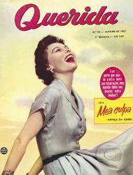 Revista Querida, 01/1955. Acervo Ed. Globo