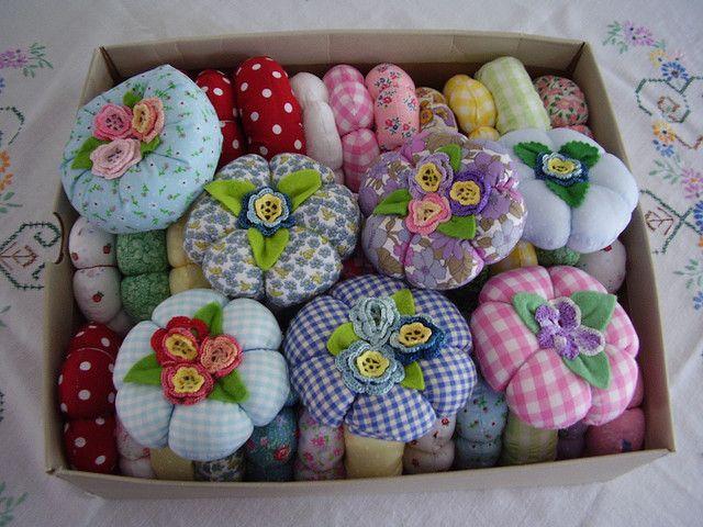 Cloth flowers - Fiori di stoffa