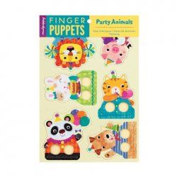 Little Boo-Teek - Stocking Fillers Mudpuppy Finger Puppets -   Party Animal $11.95 www.littlebooteek.com.au #littlebooteek #christmas #stockingfillers #presents #kids #baby