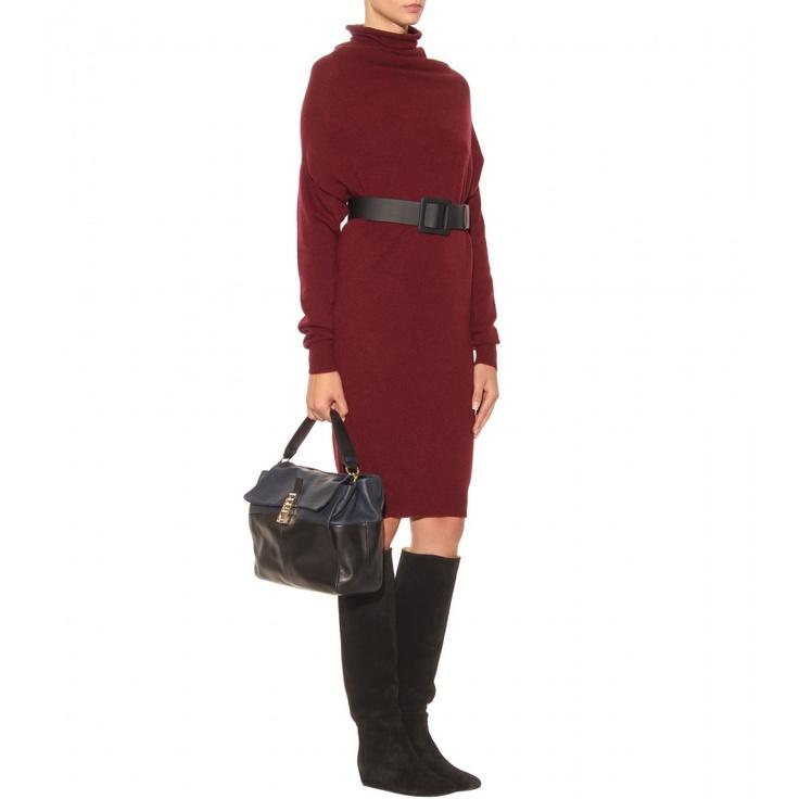 Lanvin Turtleneck Pullover Dress