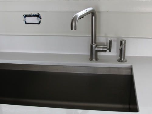 Kitchen Sink With Faucet To The Side   Google Search
