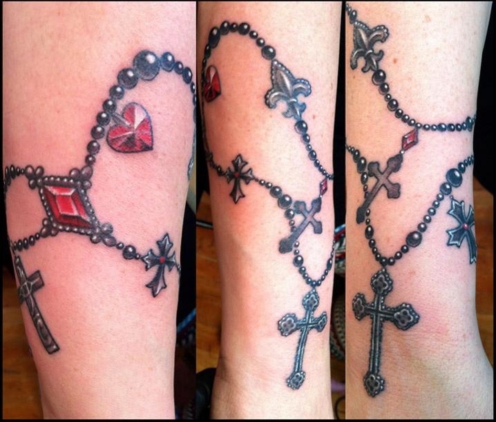 Rosary Tattoo