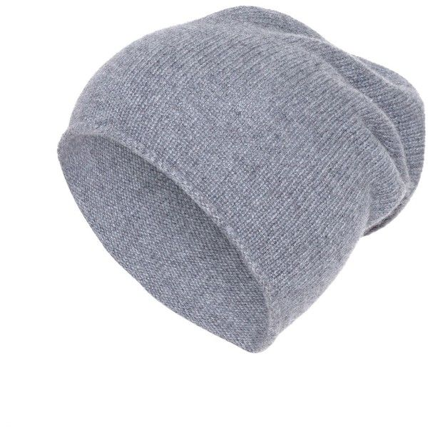 Hallhuber Cashmere beanie (£19) ❤ liked on Polyvore featuring accessories, hats, beanies, gorros, head, hats & hair accessories, beanie cap hat, cashmere beanie, cashmere hat and cashmere beanie hat