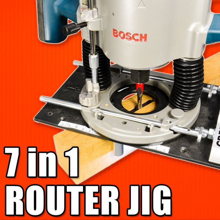 7 in 1 Router Jig / M.POWER CRB7 MK3 Router Base Review. #woodworking #powertools