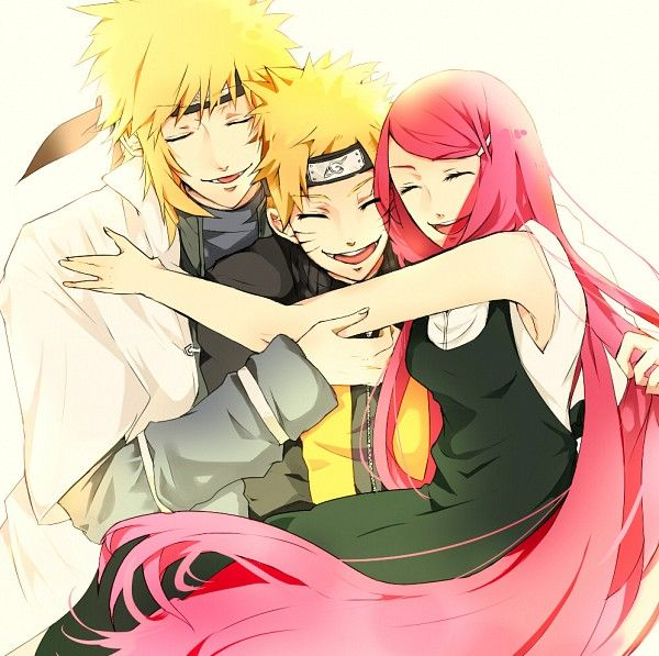 Kushina, Naruto and Minato