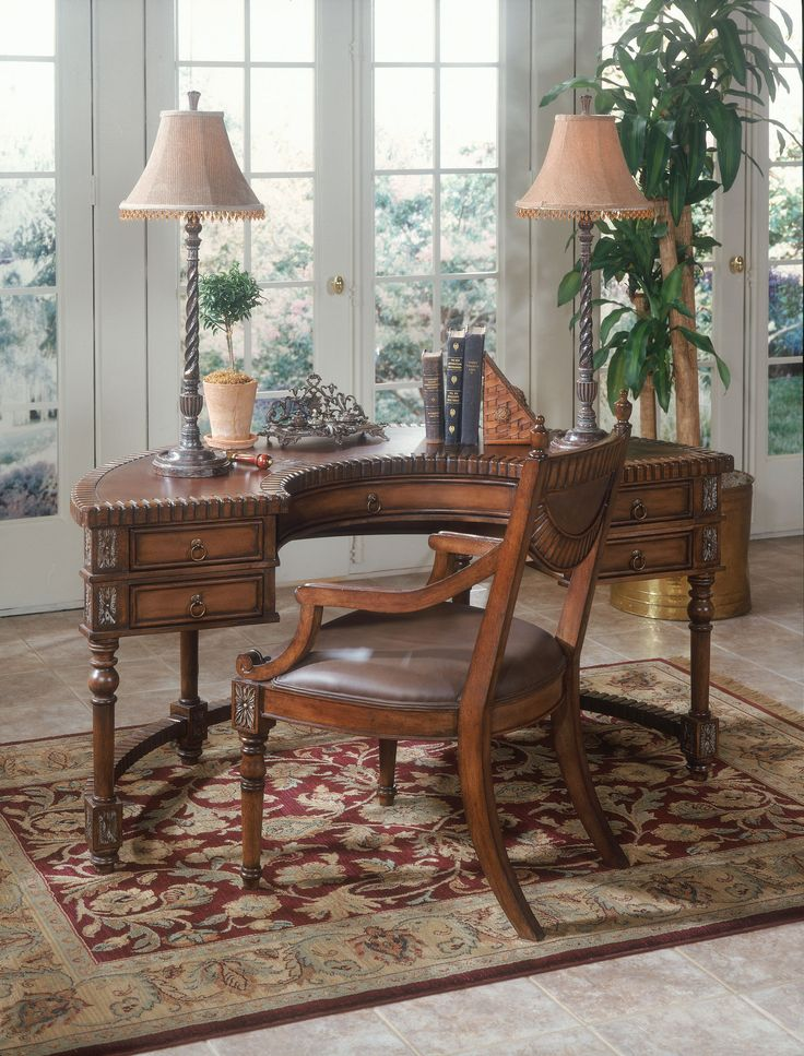 butler specialty company home office demilune desk 0714090