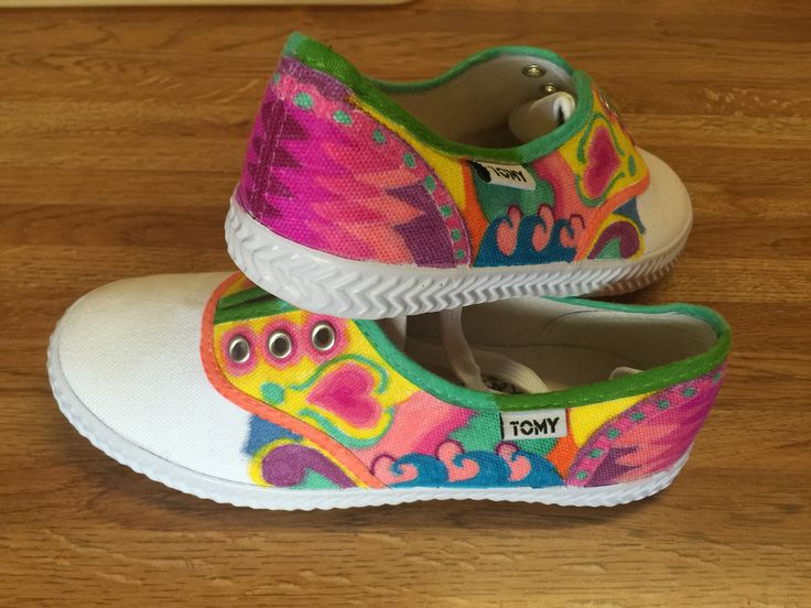 Tomy Shoes , decorated with Sharpies