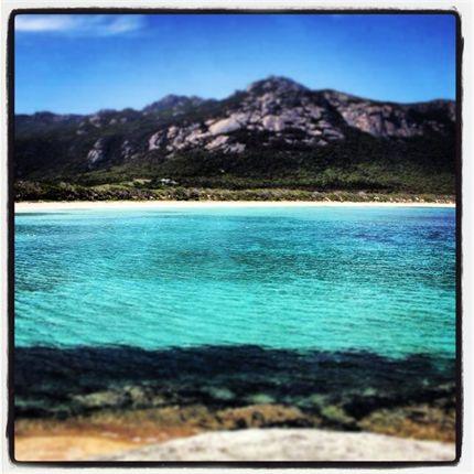 So blue it's green at #FlindersIsland in Tasmania, from Samantha M. #JWsnapshot