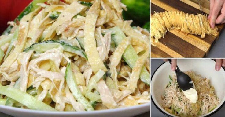 """Salata deosebită """"Mister pentru oaspeți"""": 98% din degustatori nu au putut ghici ingredientul principal! - Retete-Usoare.eu"""