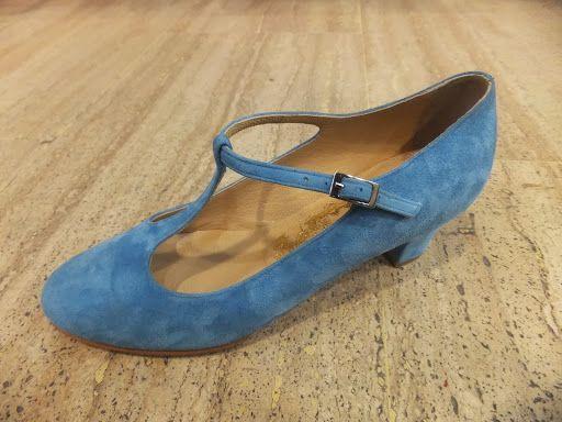 Nazaryan Kundura hakiki deri, el yapımı, açık mavi süet klasik abiye ayakkabı modeli