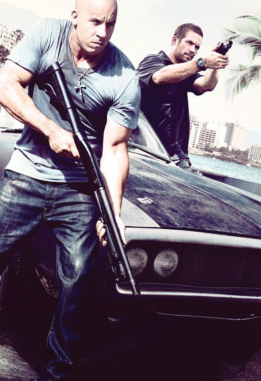 Vin Diesel and Paul Walker #nowords don't know what's hotter the guys or the car... ;)