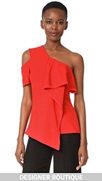New Jason Wu Asymmetrical Ruffle Top online. Enjoy the absolute best in Maggie Marilyn Clothing from top store. Sku iuem70588txtb48532
