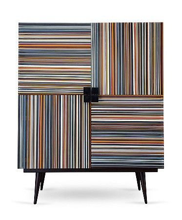 Orfeo Quagliata of Studio Quagliata applies his craft to Bar Code, a bar cabinet built in sustainably harvested Mayan oak and designed in co...
