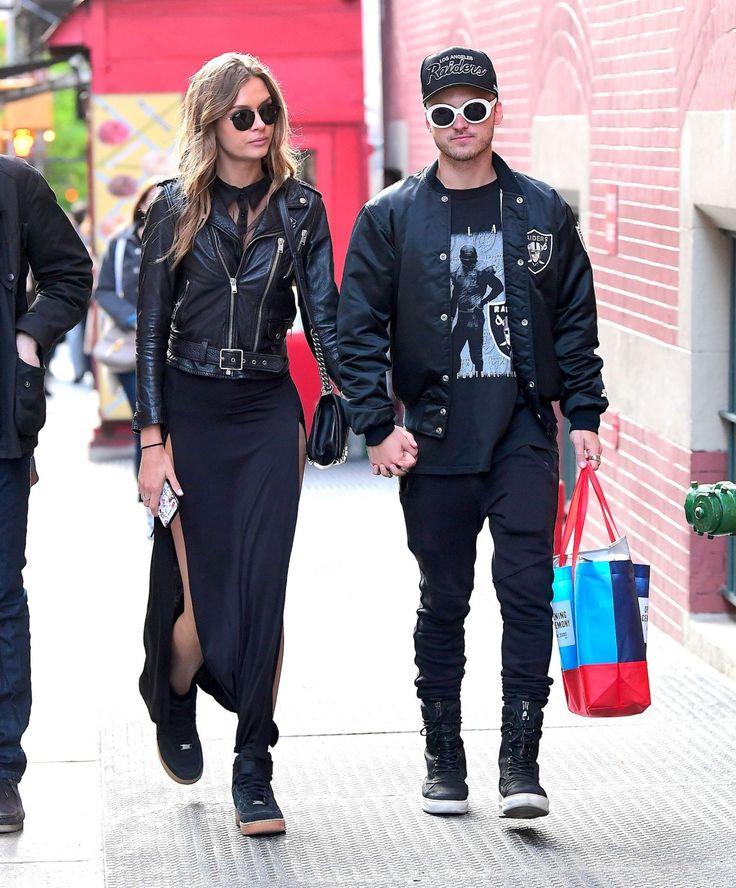 Josephine Skriver #JosephineSkriver With Boyfriend Alexander Deleon in NYC 13/05/2017 http://ift.tt/2udfAx5