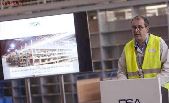 PSA Vigo abre un centro logístico de recambios para concesionarios