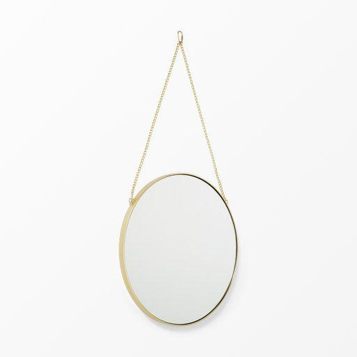 Rund spegel, 76.5x40 cm - Speglar- Köp online på åhlens.se!