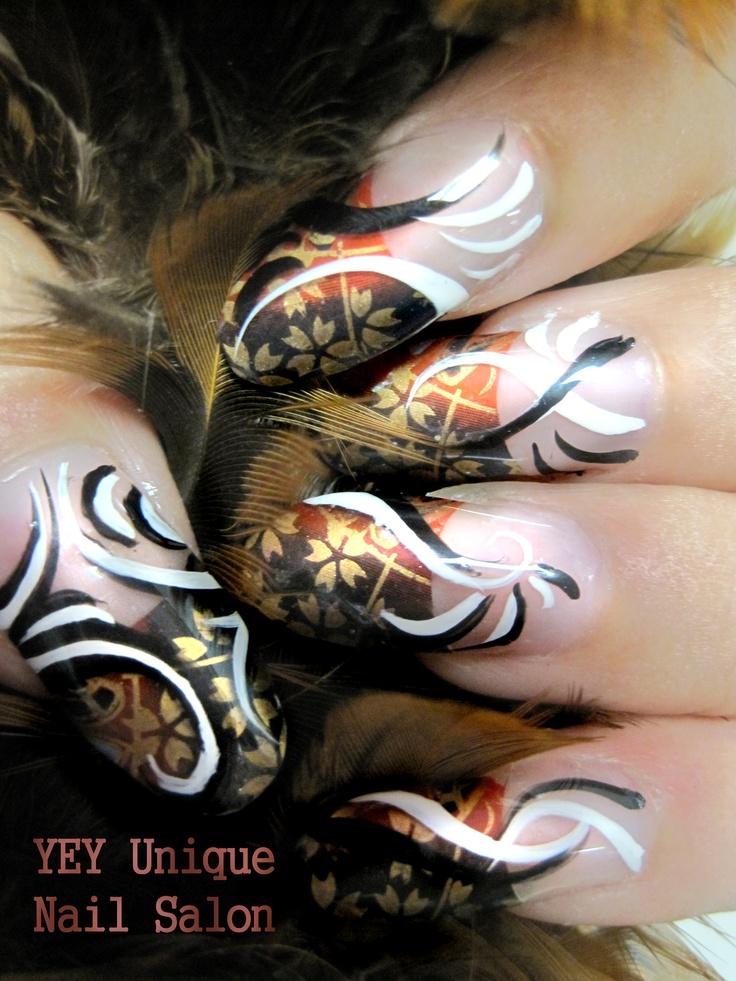 Asian nail art