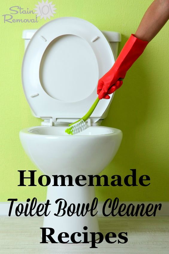 Photo Image Homemade Toilet Bowl Cleaner Recipes And Home Remedies