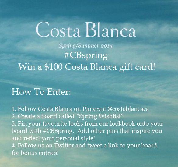 #CONTEST on now until March 10, 2014! See the full rules here: http://on.fb.me/1csV0Im #CBspring