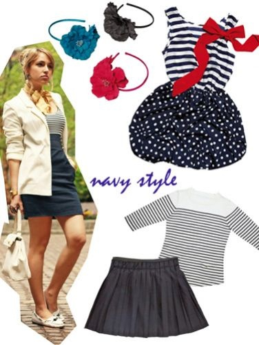 Copia il look: navy style!