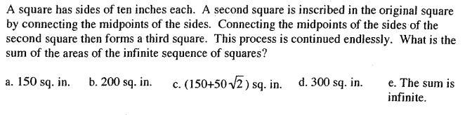 Nested squares (Utah State Math)