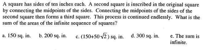 Nested squares (Utah State Math)