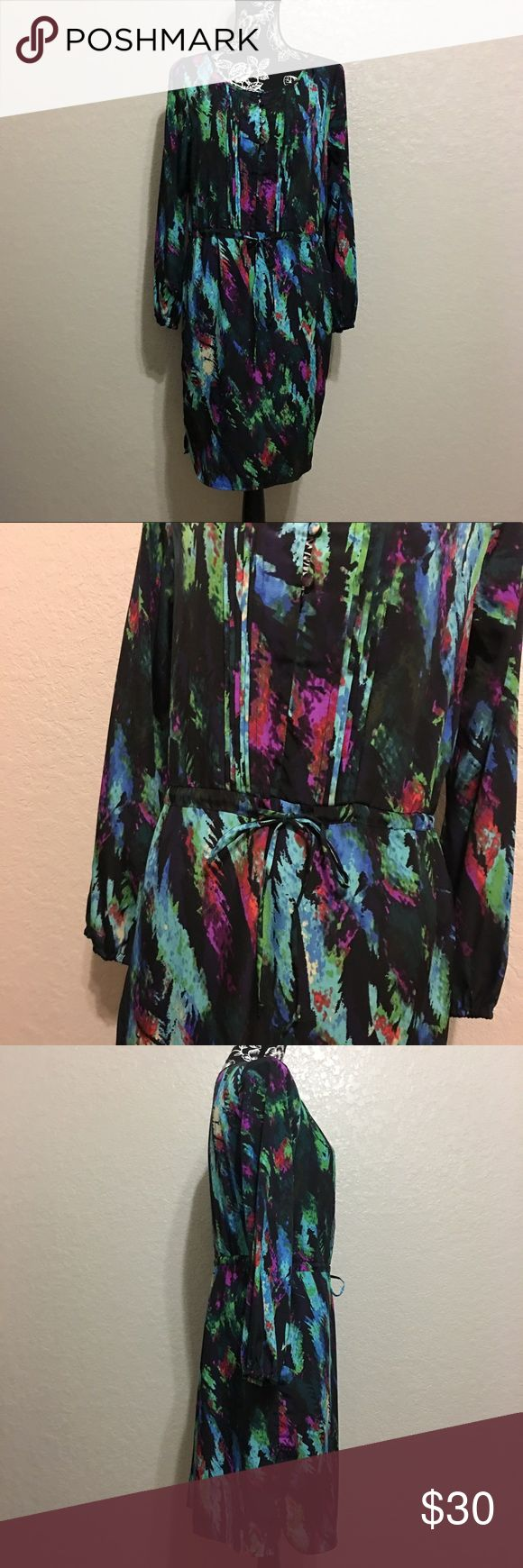 "Anthropologie Charlie Jade multicolor Dress In GOOD CONDITION NO STAINS NO HOLES! Measurements are Bust 19"" Length 37"" Anthropologie Dresses Mini"