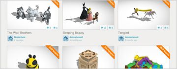 Tinkercad.com Free 3D modeling software