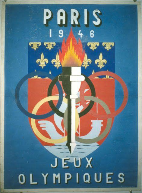 Paris 1948 - Jeux Olympiques.