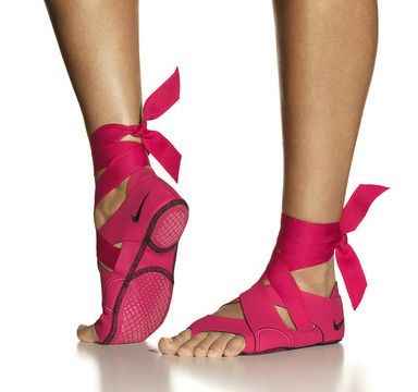 Nike dance shoes - unlike the Nike pointe shoe, this is real!?!